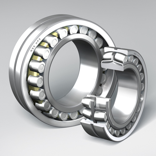 Spherical Roller Bearing, Brass Steel Cage, Cut, 2Comp